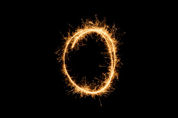 circle sparkler ring