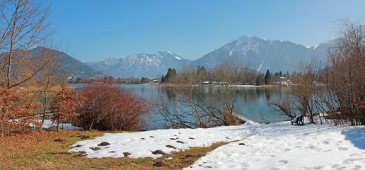 Ringsee-Ufer am Tegernsee