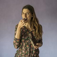 mangiare il cioccolato