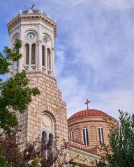 Athens, Greece, Panaghia Chrysospiliotisa old church