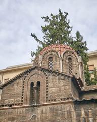 Athens, Greece, Panaghia Kapnikarea medieval church