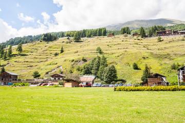 Champoluc, Val d'Ayas, Aosta, Valle d'Aosta, Italia