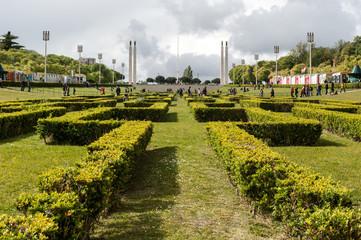 Lisbona, parco