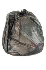 garbage bag of trash waste