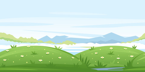 Meadows Game Background