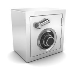 white plastic safe
