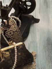 vintage female accessories