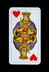 Spielkarten - Jagd-Tarock - Herz König