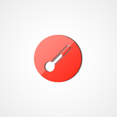 Thermometer web icon