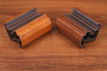 The Single PVC Corner Wood Decor on the wood