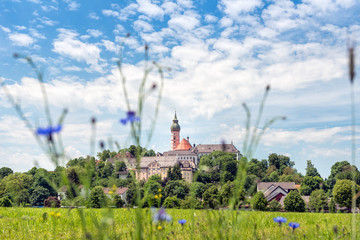 Benedictine abbey of Andechs - Panorama