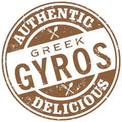 gyros greek food stamp