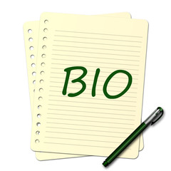 Bloc note : bio