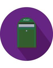 Duvara Asılı Vectörel Posta Kutusu