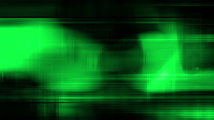Animated Background Green High Tech Loop