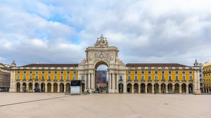 Placa do Comercio in Lisbon - Portugal