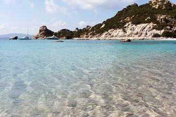 Mediterranean sea at north Sardinia, Italy.