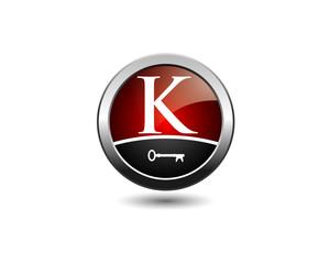 letter K key