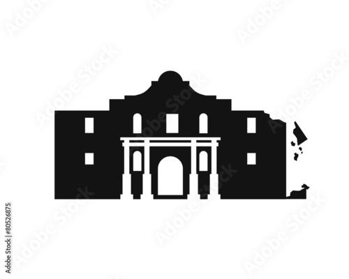 Alamo Fort Ruin - 80526875