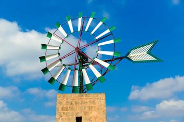 Mallorca Majorca windmill Campos Balearic Island