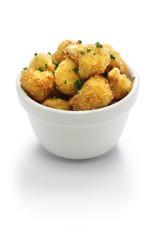 cauliflower bites, vegetarian food