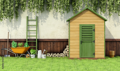 Canvas Tuin Garden shed