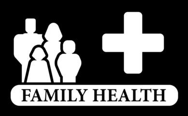 black family health icon