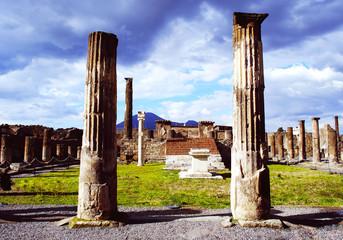 Pompei. Vesuvio.