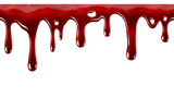 Dripping blood seamless repeatable - 80532692