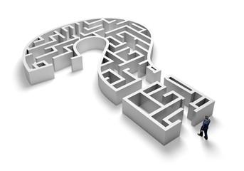 Maze. 3D. QM Maze II (Isolated)