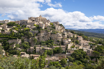 Famous Gordes medieval village