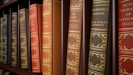 Book. 3D. Old Legal Books