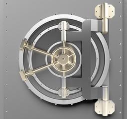 Vaulted Door. 3D. Bank Vault 02