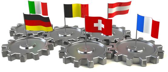 europa länder zusammenarbeit