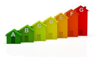 Energy. 3D. Energy Efficiency in the Home