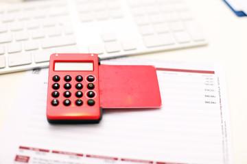 rotes TAN Gerät für online Überweisungen
