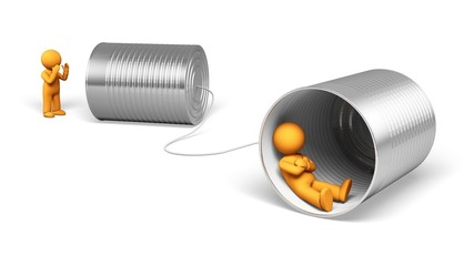 Communication. 3D. Communication