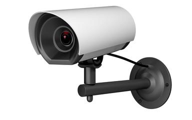 Security Camera. 3D. Security camera