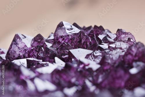 amethyst quartz - 80535280