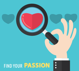 Find your passion background