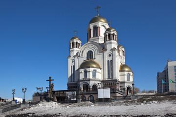 Храм Спаса-на-Крови. Екатеринбург.