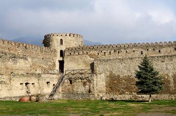 Fortification wall of Svetitskhoveli Cathedral,Mtskheta, Georgia