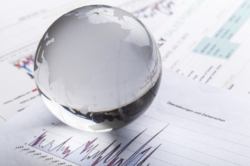 Global. Global investment concept