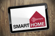 Tablet mit Smart Home