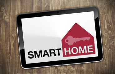 Tablet mit Smart Home