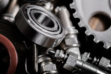 Spare. Gears parts for the automotive repair industry.