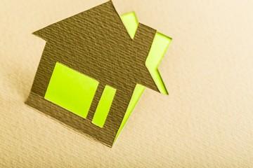 Neighborhood. Paper house