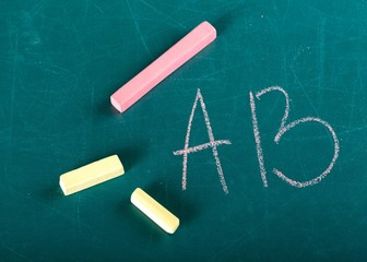 Chalk. School Chalk