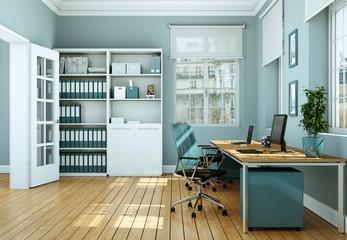moderne Büro Visualisierung