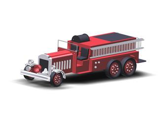 fire truck rendering